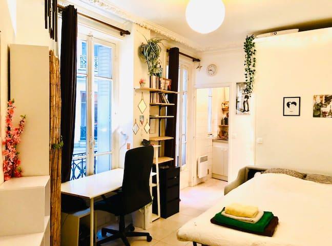 Montmarte, calm and cozy :)