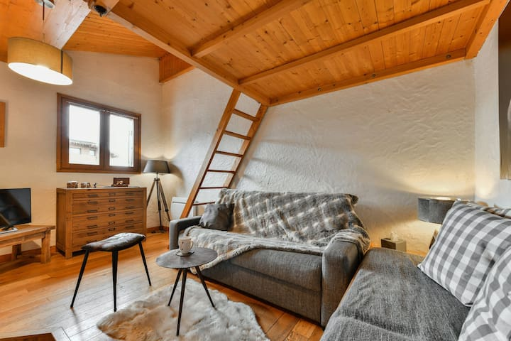 Cosy apartment for 4 person in Le Praz