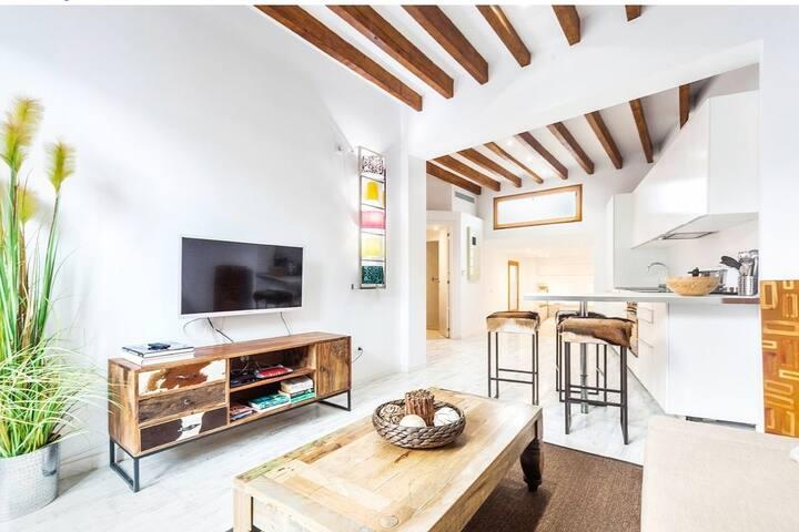 Modernes Studio in der Altstadt von Palma