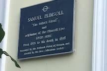 Samuel Plimsolls' last residence.