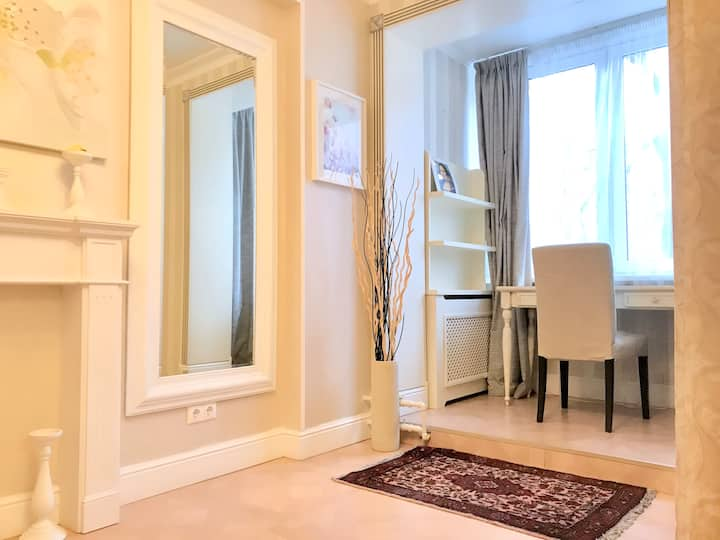 Cozy apartment 25 min from Kremlin