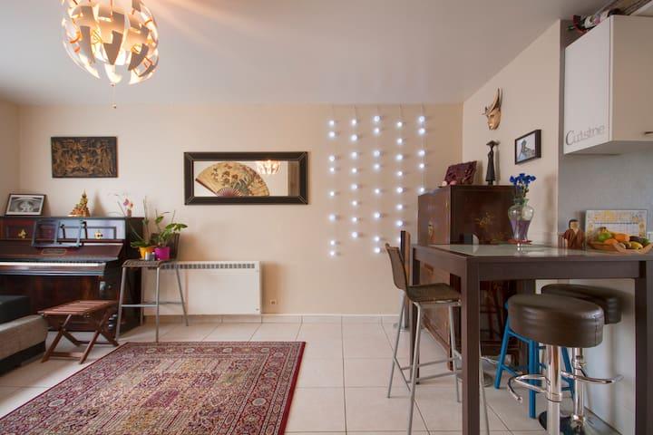 Maisonnette de bourg avec terrasse - Plougastel-Daoulas - Huis