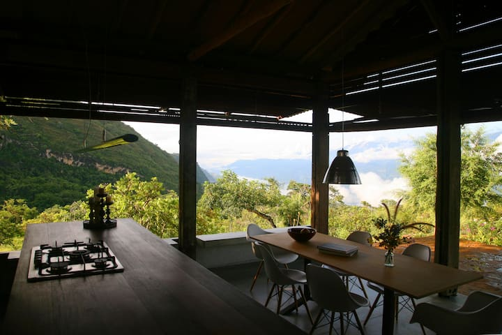 Casa La Pitaya, design in a beautiful scenery - Barichara - Dom