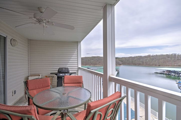 NEW! 2BR Lakefront Osage Beach Condo w/ Views!