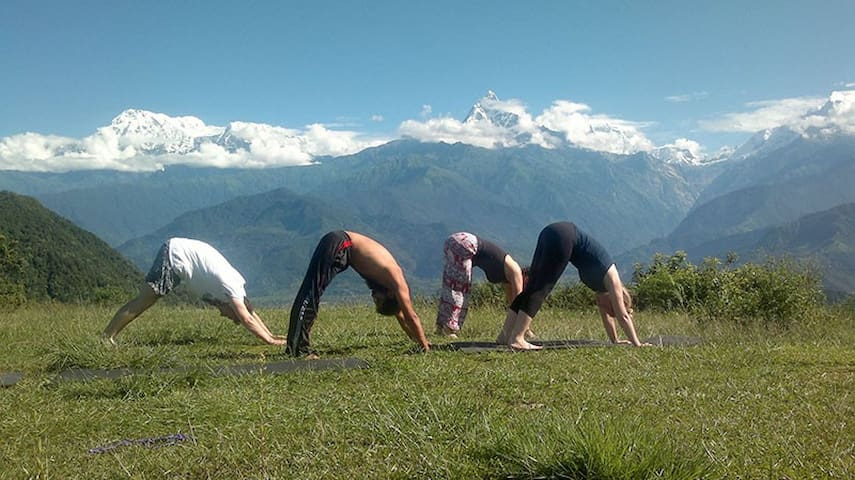 Shree yoga retreat centre, Pokhara