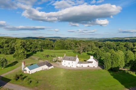 17th century farmhouse set in 3 acres by Loch Ken