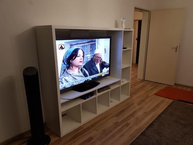 Satelliten TV und Internet