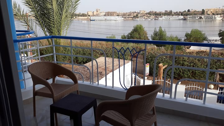 Hofni Palace with amazing view to luxor temple
