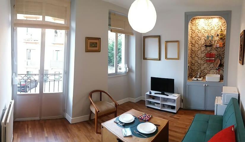 Pequeño apartamento en San Sebastia