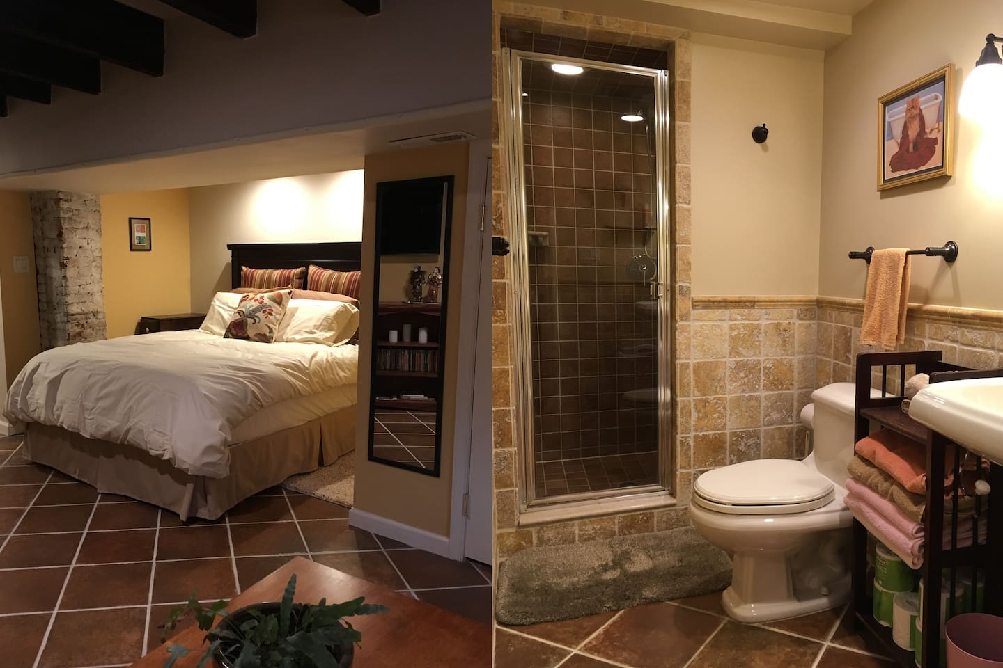 Comfortable, private suite in the heart of downtown Frederick.