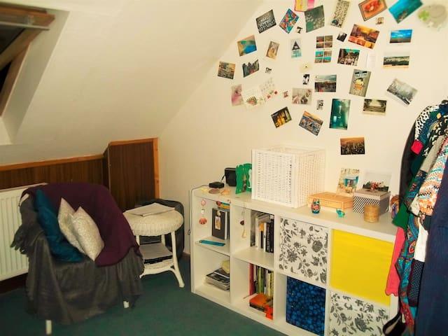 Cosy attic room in Prague