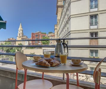 A balcony on the true Marseille - Marseille - Appartement