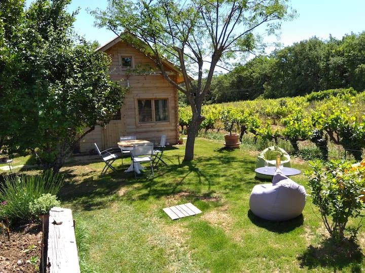 Chalet indépendant calme avec piscine Pays Aix
