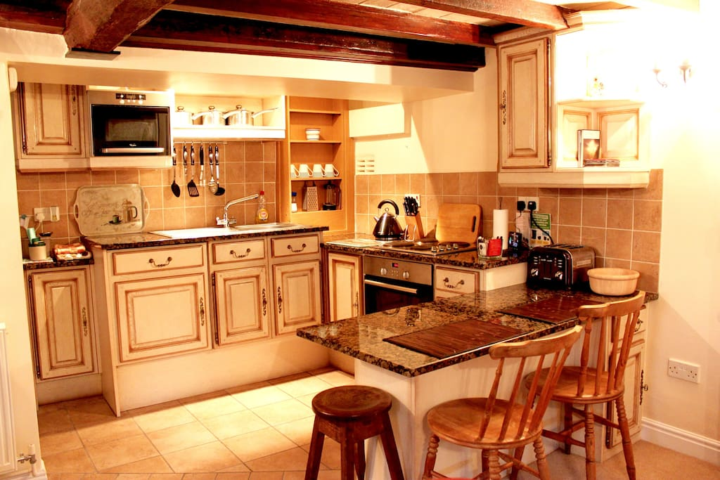 Enjoy a night in cooking up a feast in the well equipped kitchen.