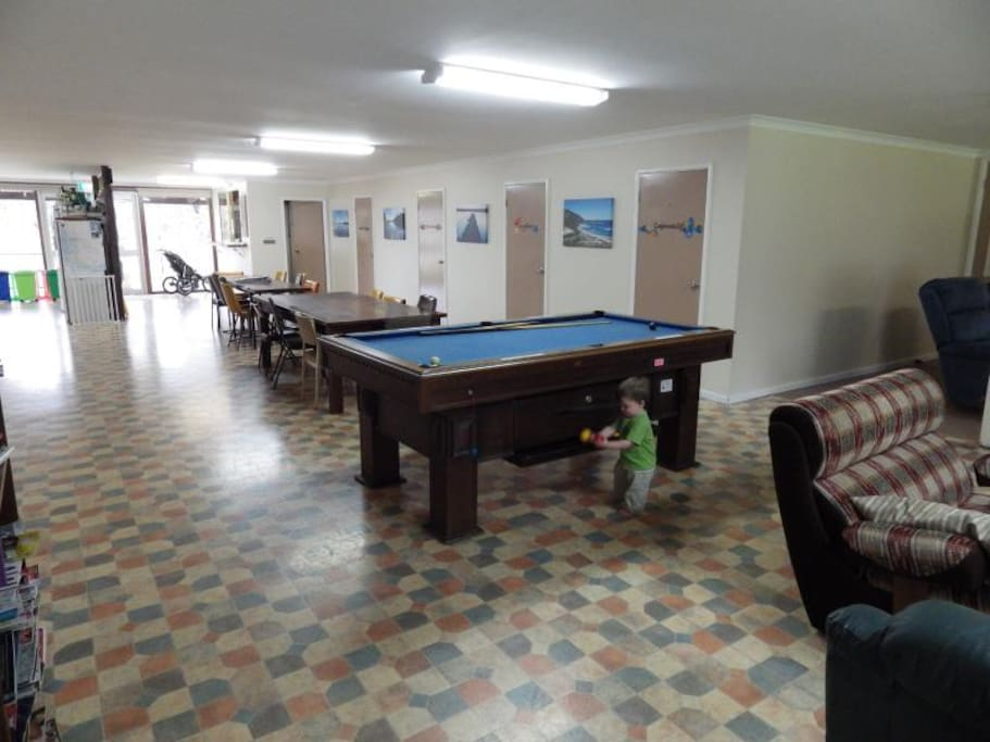 Pool Table - limited hours 10am-9pm