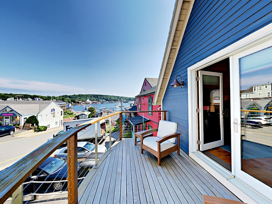 Welcome to Boothbay Harbor! Your rental is professionally managed by TurnKey Vacation Rentals.