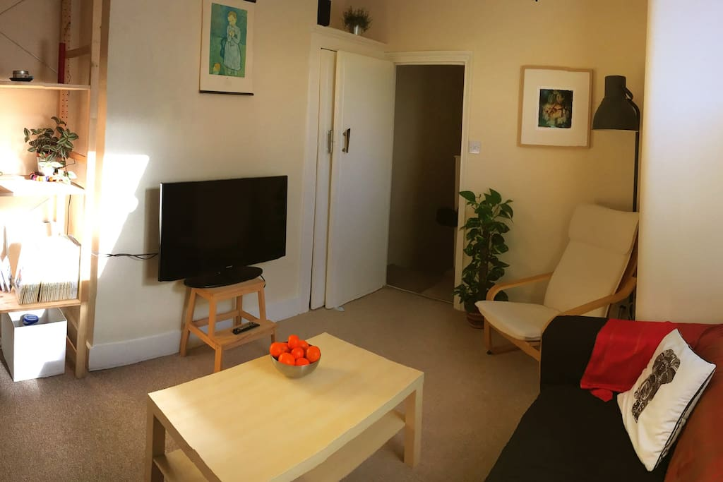 Cosy bright living room