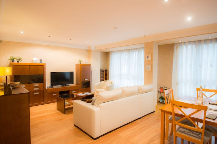 Spacious apartment in the heart of Vitoria.