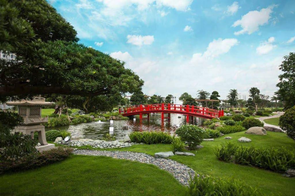 japanese park in hochiminh