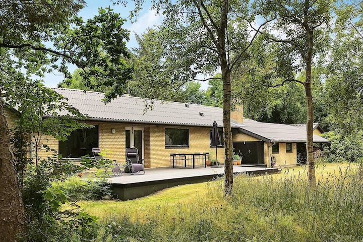 Serene Holiday Home in Nykøbing Mors with Terrace