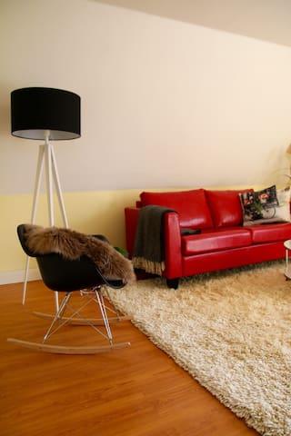 Herzliche und gemütliche Wohnung - Heede - Apartment