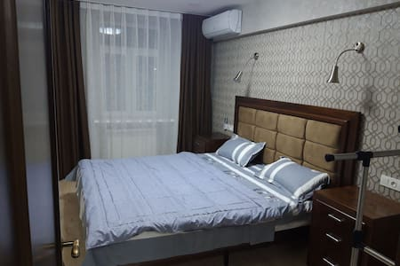 Warm and tidy apartment in the heart of Tashkent.