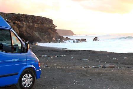 Fuerteventura & Lanzarote in a Campervan - Gran Tarajal