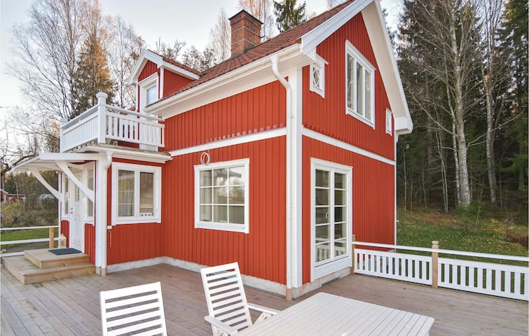 Holiday cottage with 3 bedrooms on 140m² in Kristinehamn