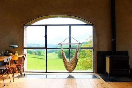 Grange amenagée loft avec une vue exceptionnelle - Hus