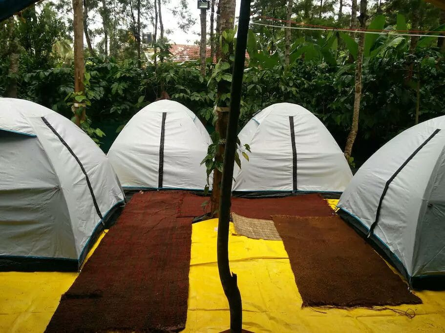 Twin Sharing Tents