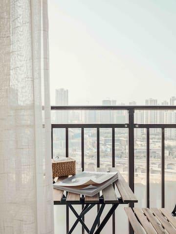 属于您的观景小阳台,视野超棒