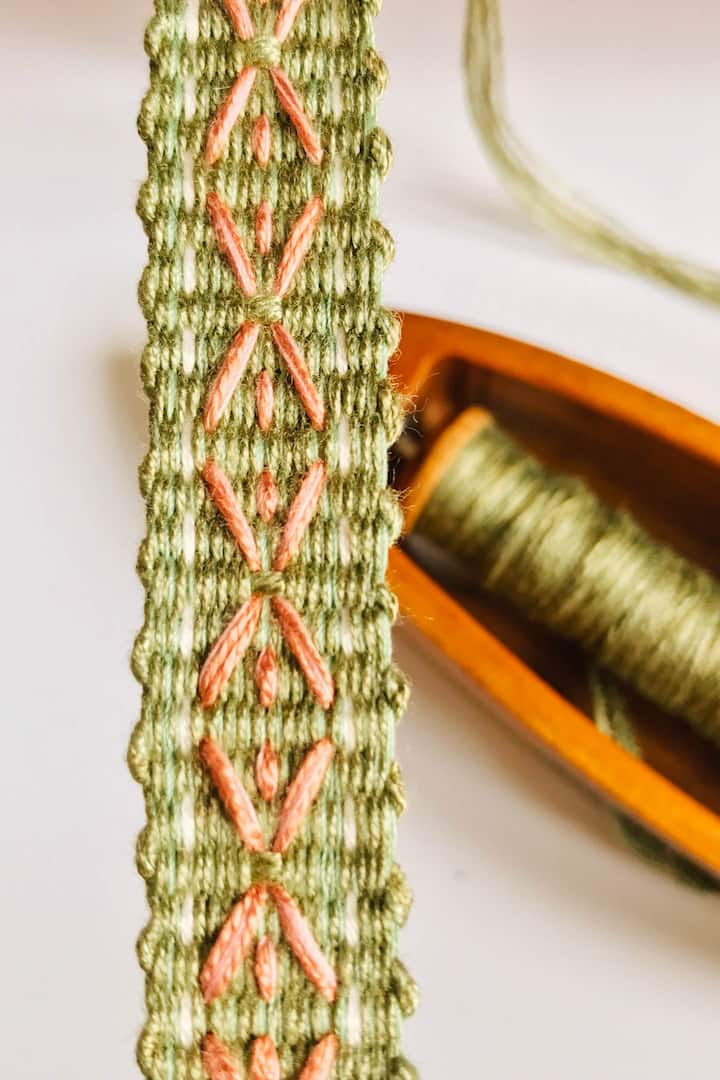 Braid on the loom