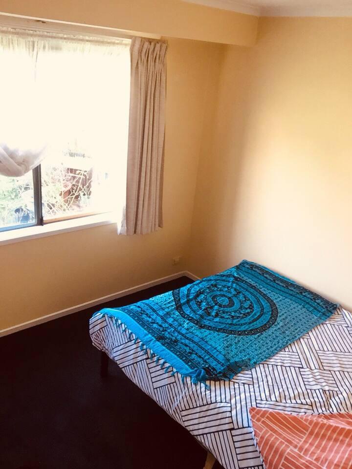 Cosy bedroom in Skye.