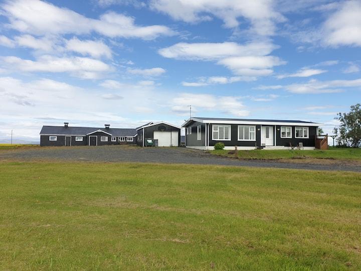 Private farmhouse on the south east coast