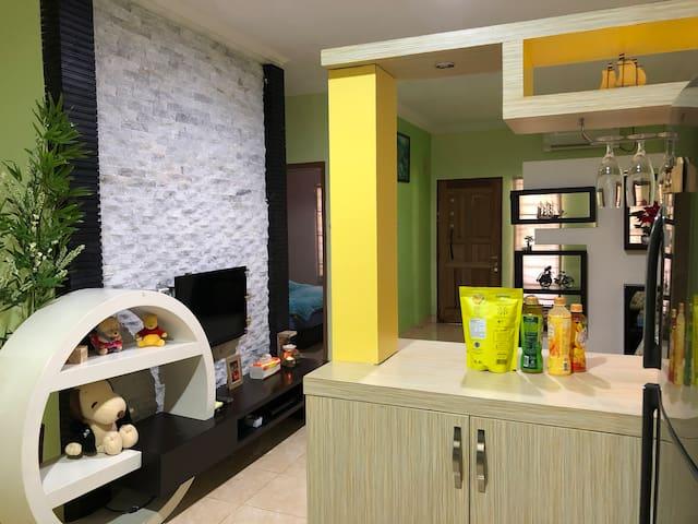 kitchen - mini bar