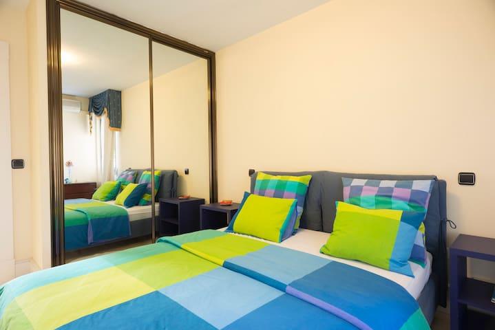 Habitación y desayuno bufet WIFI - Parque Coimbra - Bed & Breakfast