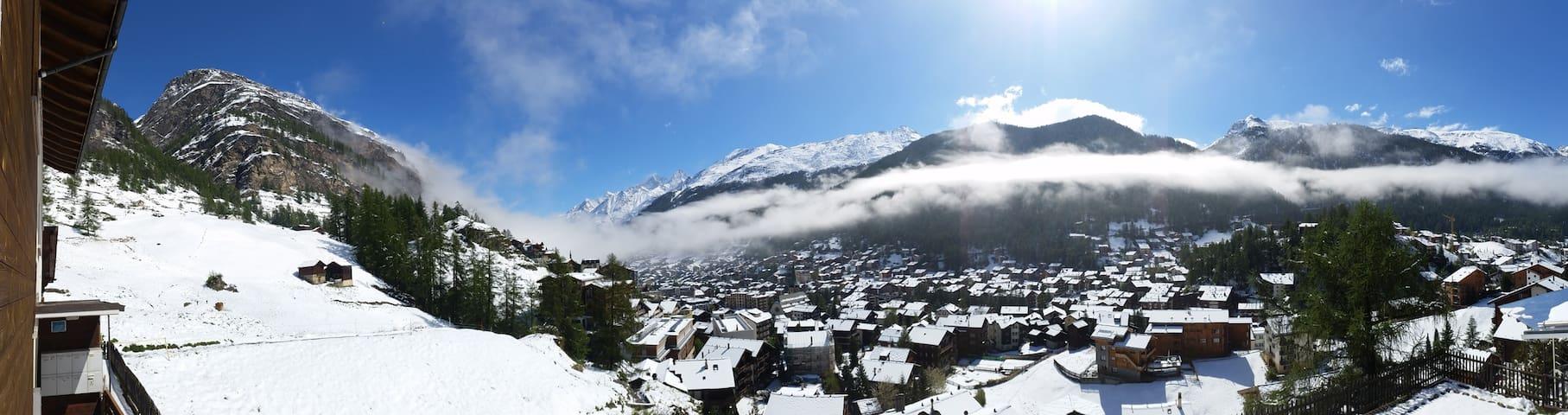 Gemütliche Ferienwohnung mit Aussicht auf Zermatt - Zermatt