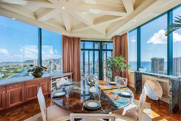 Waikiki Grand View Penthouse