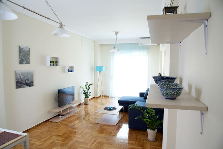 Spacious appartment in the center of Thessaloniki