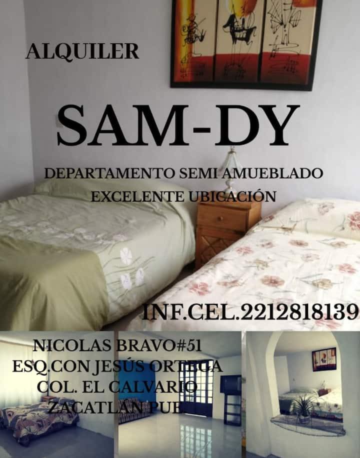 SAMDY lugar para descansar y disfrutar de Zacatlán