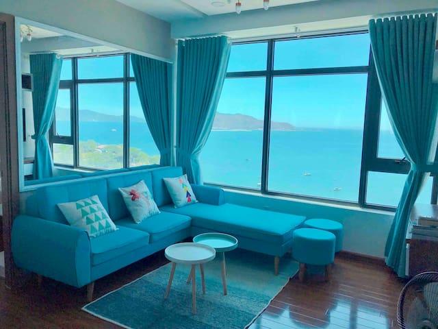 Cozy Ocean View 2 bedrooms Apartment