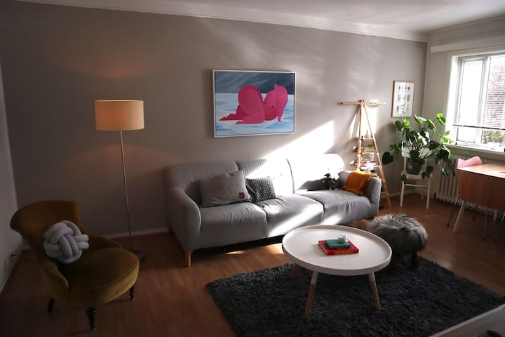 Cozy apartment in a family friendly neighbourhood