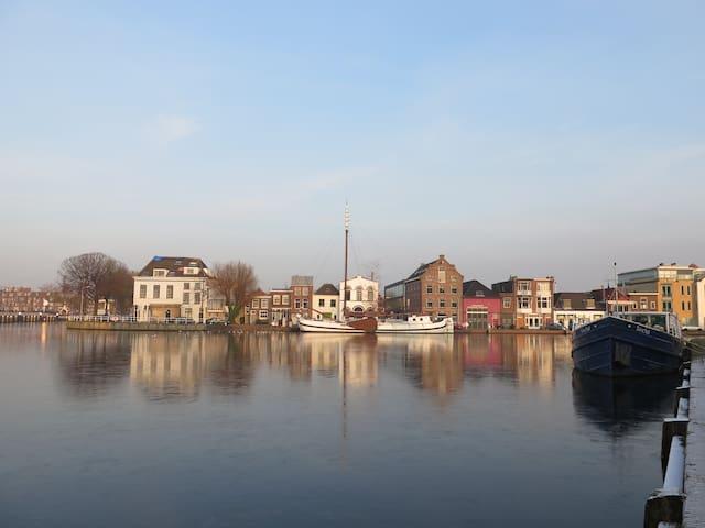 Slapen in Vermeers Zicht op Delft - Delft - Townhouse