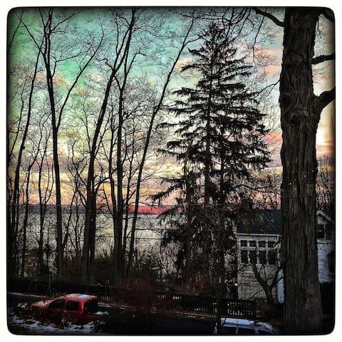 Bright & Charming Hudson River Vu - Piermont - Casa