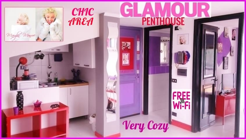 ARTISTIC GLAMOUR ATTIC IN EXCLUSIVE AREA  ☆☆☆ - Roma - Leilighet