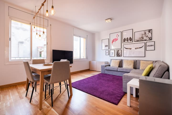 2 bedroom apartment Barceloneta