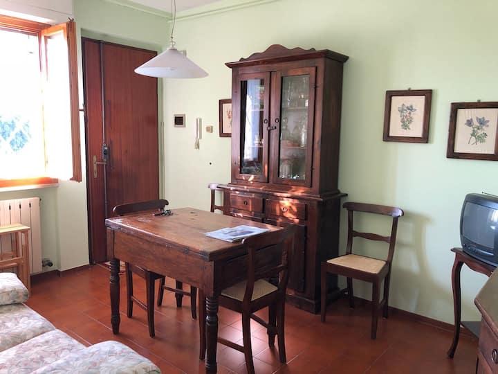 Pietrasanta flat close to the sea, mountains & art