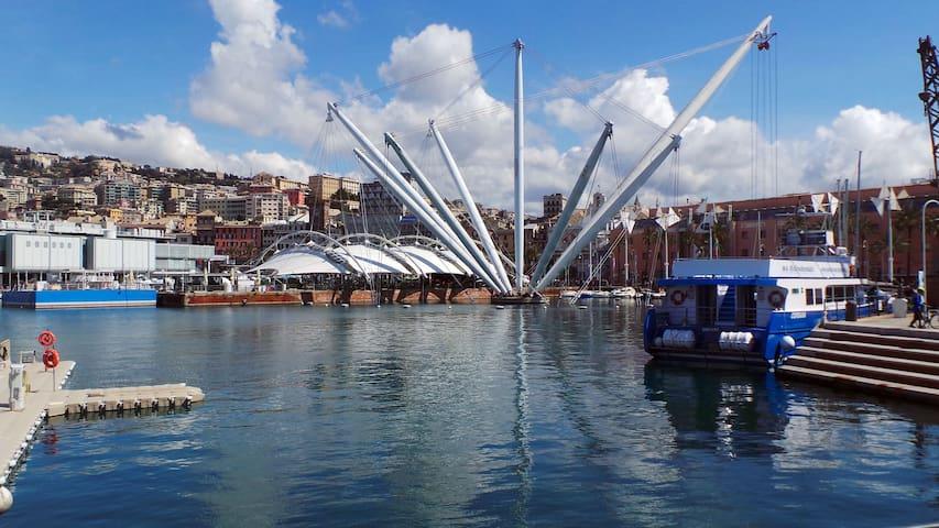 Appartamento l'Acciughina, Porto Antico Genova