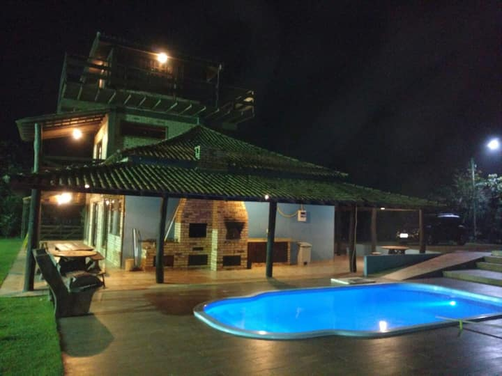 Casa Bonita na Chapada