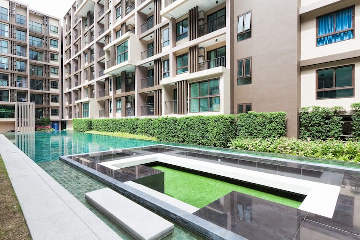 Nice and Convenience New condo in Phuket - Phuket - Appartement en résidence